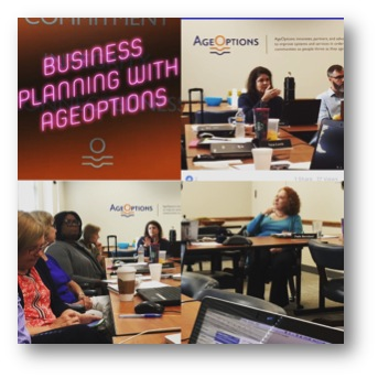 AgeOptions Business Planning Kickoff