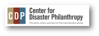 Center for Disaster Philanthropy Logo Shadow