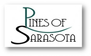 Pines of Sarasota Logo Shadow