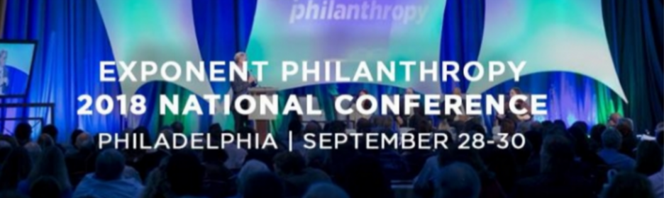 No Margin, No Mission featured at Exponent Philanthropy 2018 National Conference