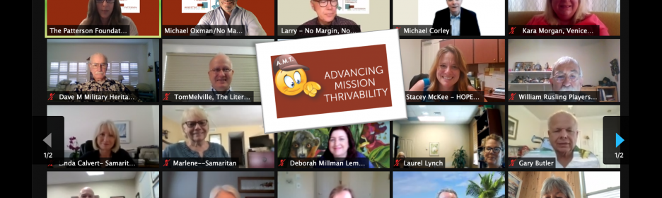 We launched Advancing Mission Thrivability in partnership with The Patterson Foundation